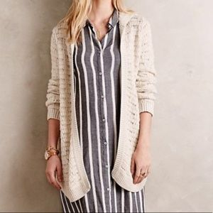 Sleeping on Snow Anthropologie Oarsin Cardigan XS